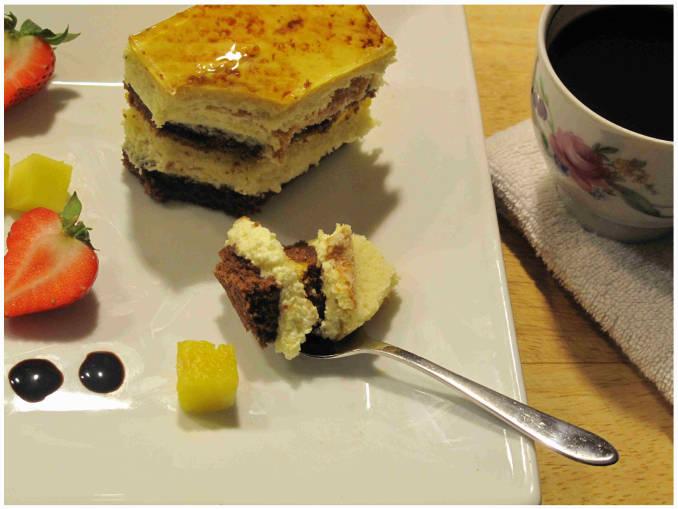 Mango-Chocolate-Coconut Cake | IronWhisk