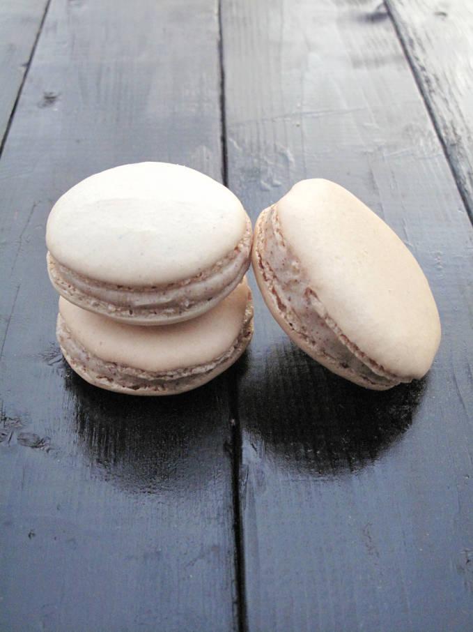 Hazelnut french macarons
