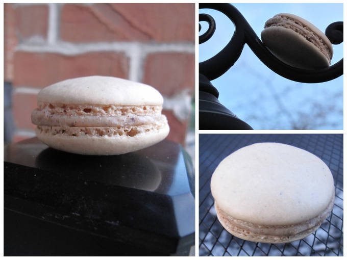 French macarons in strange places