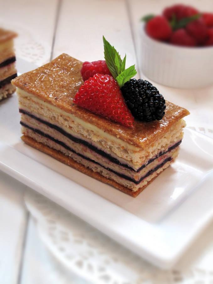 Apple Torte With Breadcrumb-Hazelnut Crust Recipe — Dishmaps