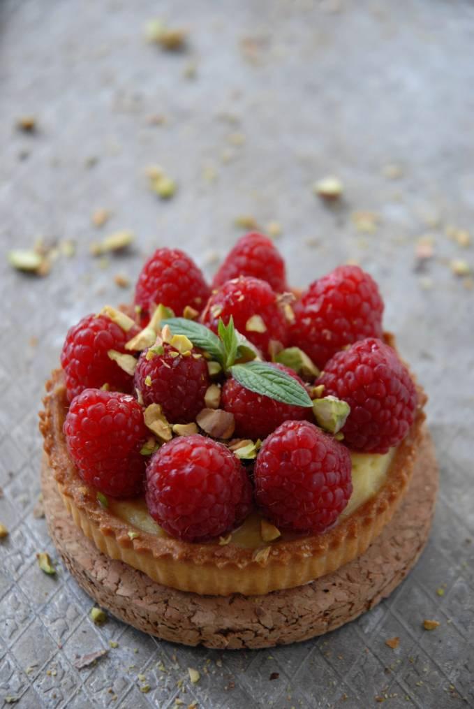 recipe: raspberry and white chocolate tart recipe [32]
