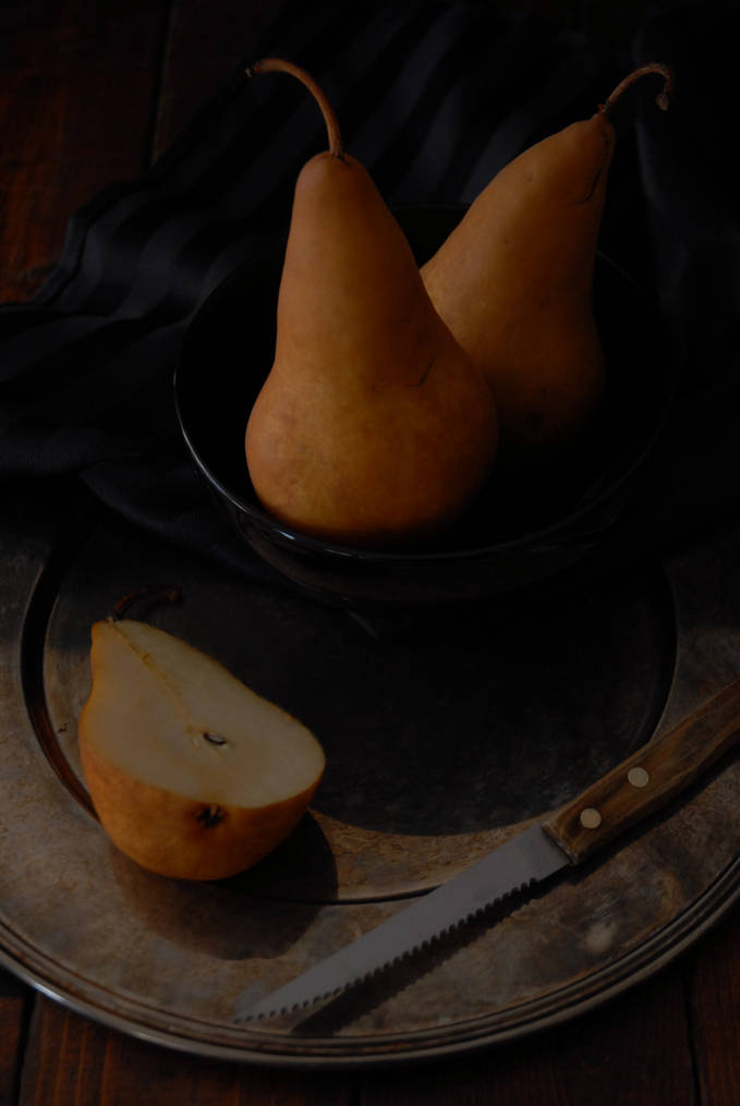 Bosc pears, used to make a delectable pear tart. Click to get the recipe!